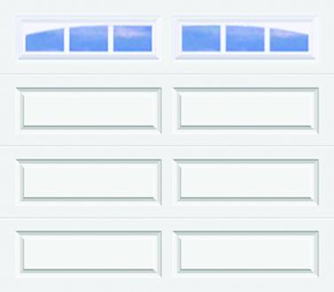 502, 502i Ranch Panel - Arched Stockbridge - Single Door