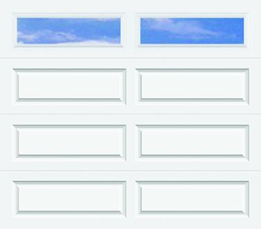 502, 502i Ranch Panel - Plain Lite - Single Door