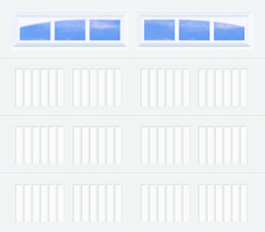 50C, 50Ci Carriage Panel - Arched Stockbridge - Single Door