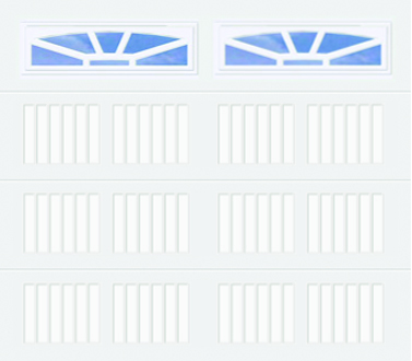 50C, 50Ci Carriage Panel - Ashton - Single Door