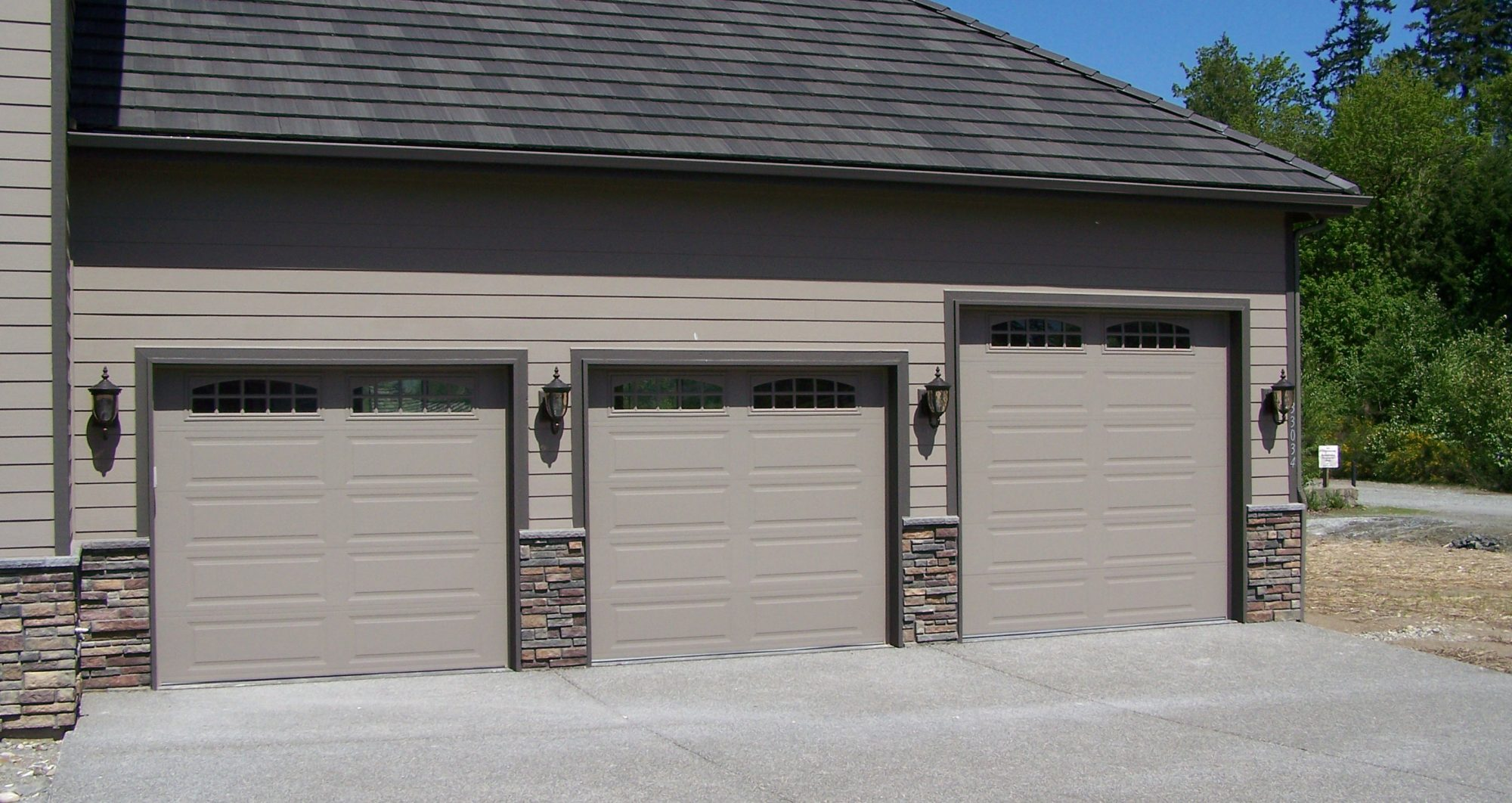door and house plans boat economical two front more car storage kira projectplans rv includes garage or main plan