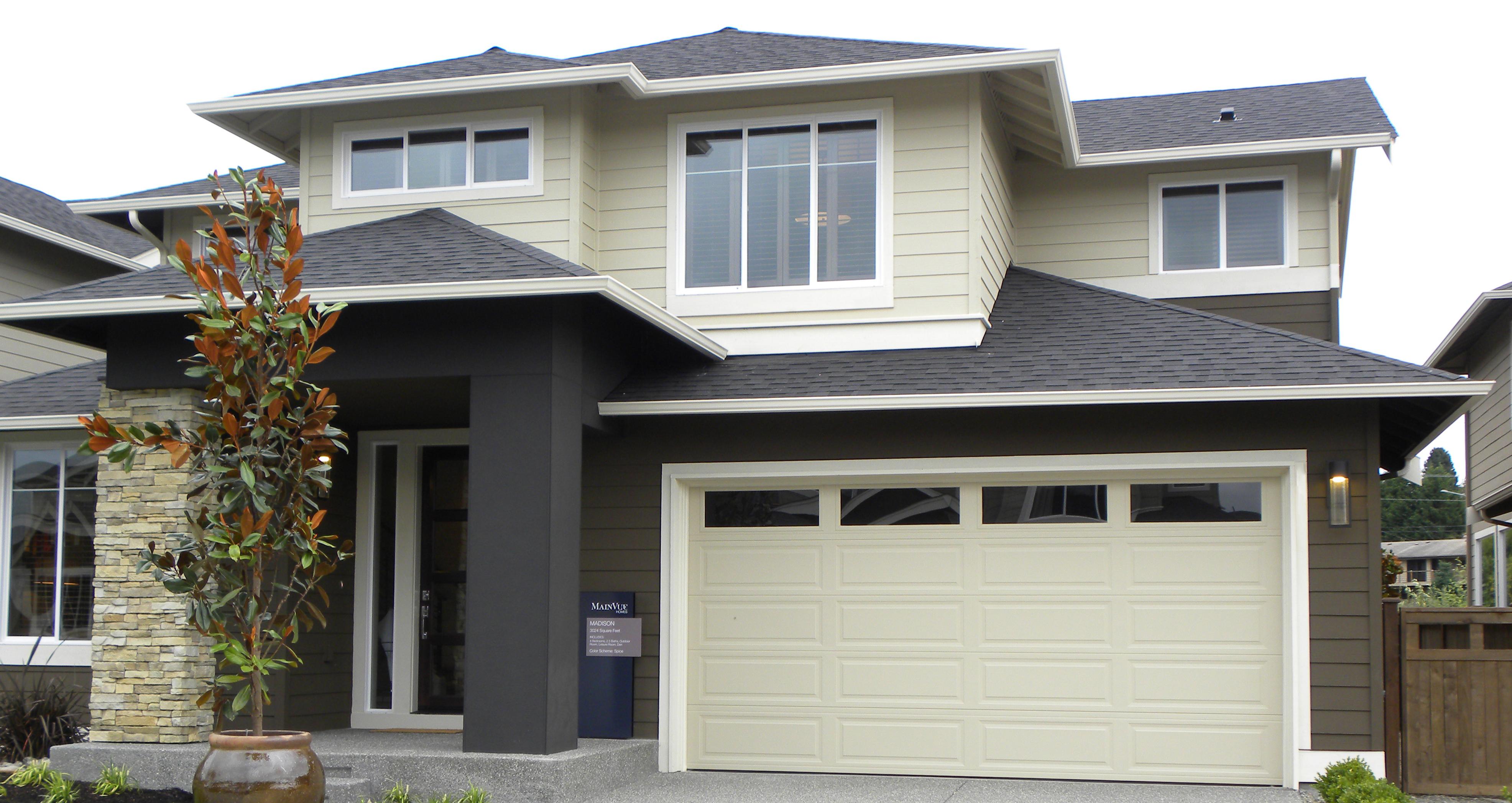 Tri tech northwest door for Therma door garage insulation
