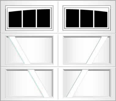 RV03A - Single Door Single Arch