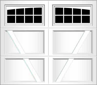 RV08A - Single Door Single Arch