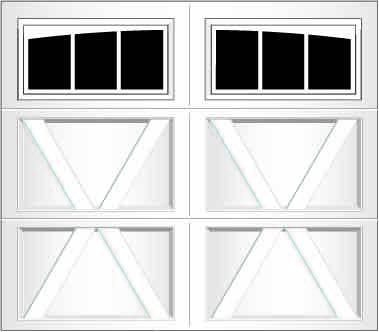 RX03A - Single Door Single Arch
