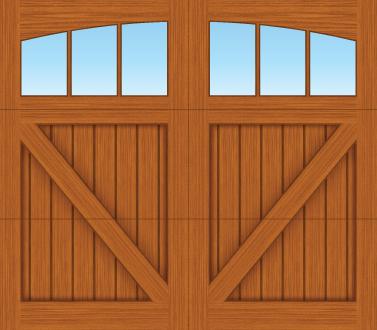 CV03A - Single Door Single Arch