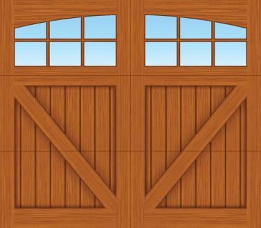 CV06A - Single Door Single Arch