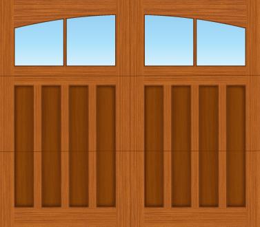 E302A - Single Door Single Arch