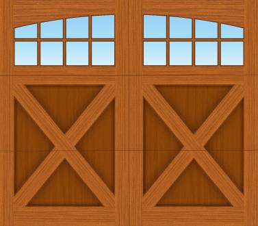 EX08A - Single Door Single Arch