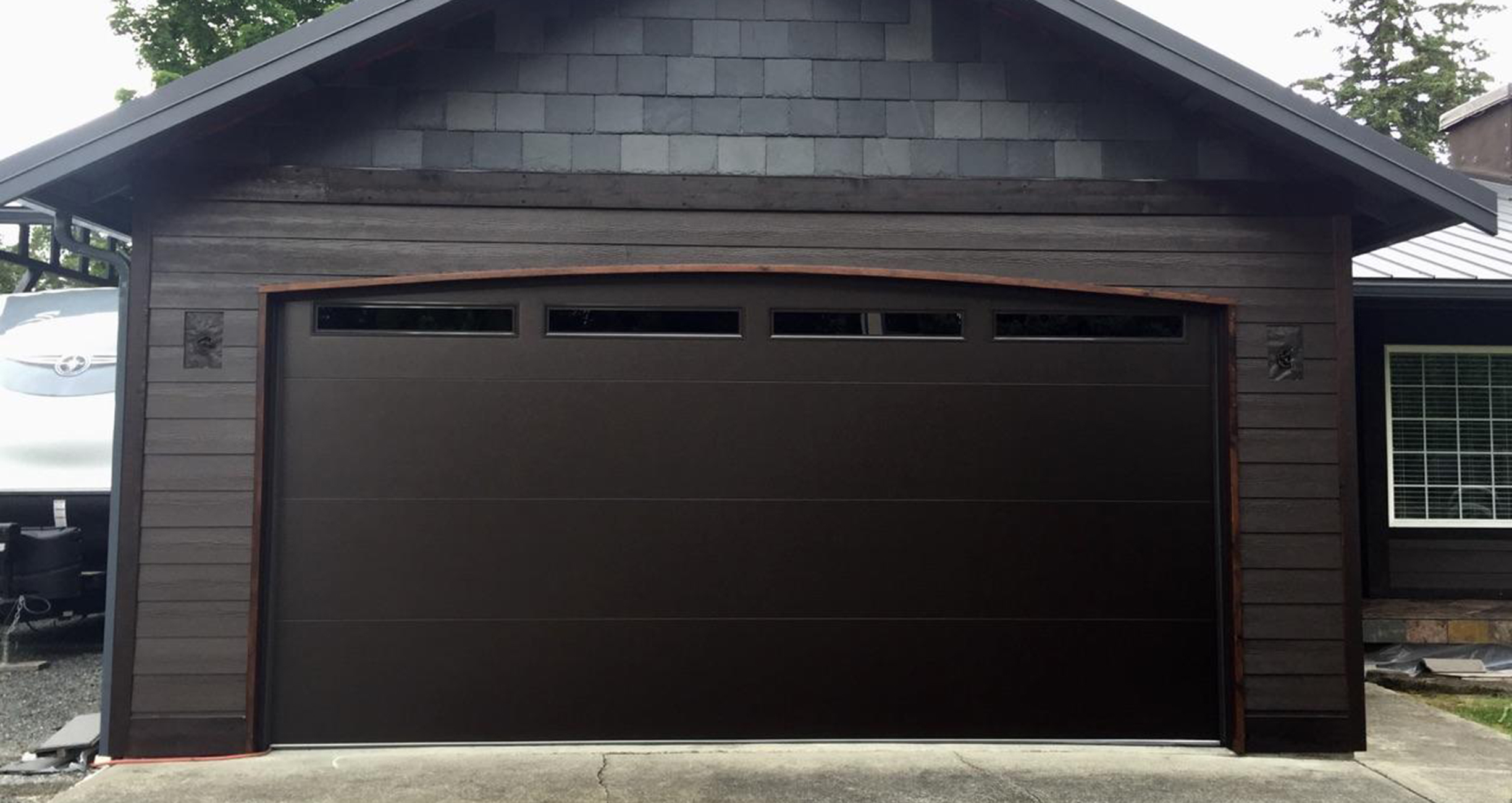 Modern Tech Bt Dark Bronze Northwest Door