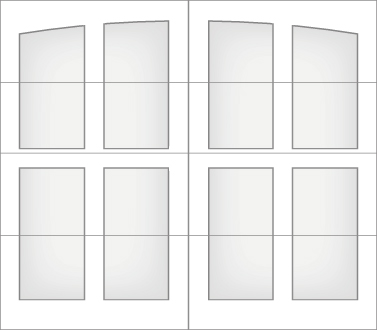 D1M0A - Single Door Single Arch