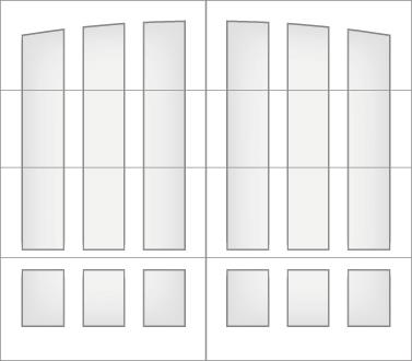 D2L0A - Single Door Single Arch