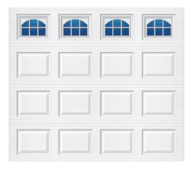 Model 501 Traditional Panel - Cascade - Single Door