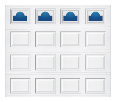 Model 501 Traditional Panel - Cathedral - Single Door
