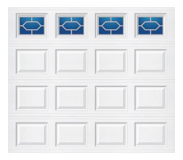 Model 501 Traditional Panel - Diamond - Single Door