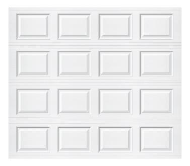 Model 501 Traditional Panel - Plain - Single Door
