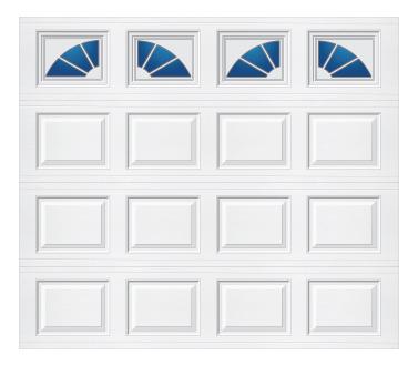 Model 501 Traditional Panel - Sherwood - Single Door