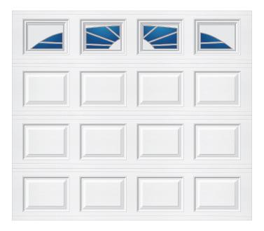 Model 501 Traditional Panel - Williamsburg - Single Door