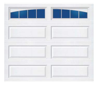 Model 228 TM Ranch - Arched Stockbridge - Single Door