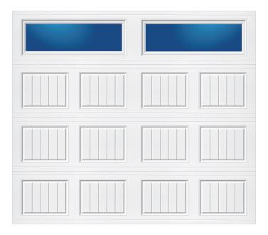 Model 10C Carriage - Plain Lite - Single Door