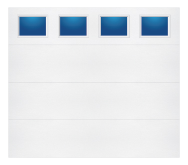 Model 108 Contemporary - Plain Lite T - Single Door