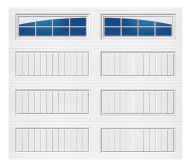 Model 10G Cottage - Arched Stockton - Single Door