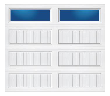 Model 10G Cottage - Plain Lite - Single Door
