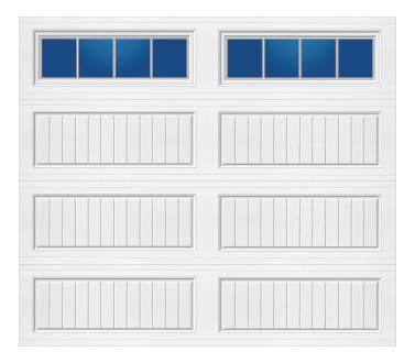 Model 10G Cottage - Stockbridge - Single Door
