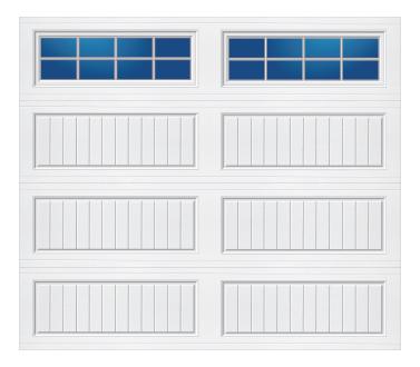 Model 10G Cottage - Stockton - Single Door