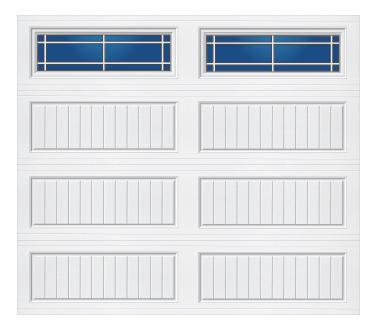Model 20G Cottage - Prairie - Single Door