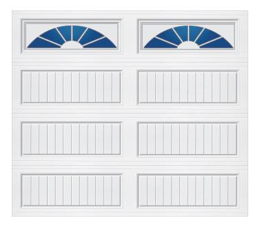Model 20G Cottage - Sherwood - Single Door