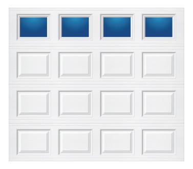 Model 218 Traditional - Plain Lite - Single Door