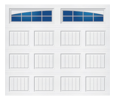 Model 60C Carriage - Arched Stockton - Single Door