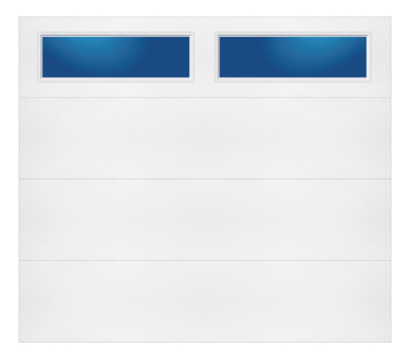 Model 608 Contemporary - Plain Lite TR - Single Door