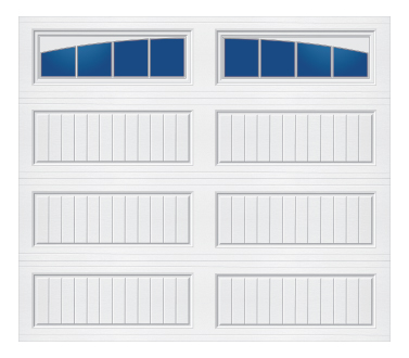Model 60G Cottage - Arched Stockbridge - Single Door