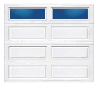 Model 628 Ranch - Plain Lite - Single Door