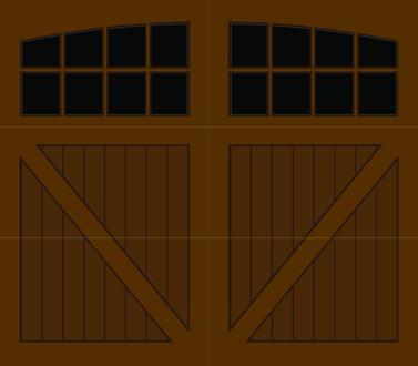 CV08A - Single Door Single Arch
