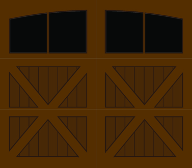 CZ02A - Single Door Single Arch