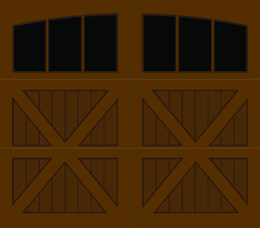 CZ03A - Single Door Single Arch