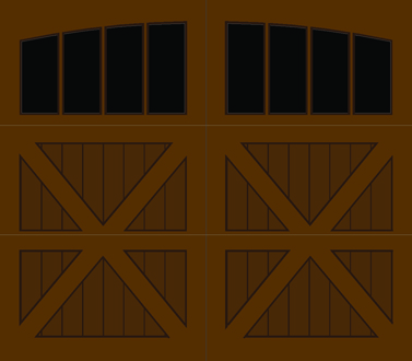 CZ04A - Single Door Single Arch