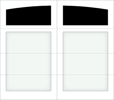 D001A - Single Door Single Arch