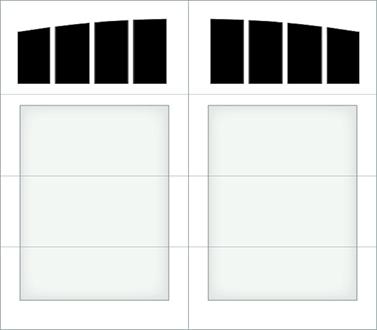 D004A - Single Door Single Arch