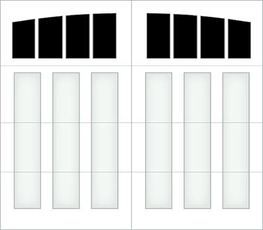 D204A - Single Door Single Arch