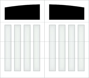 D301A - Single Door Single Arch