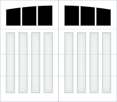 D303A - Single Door Single Arch