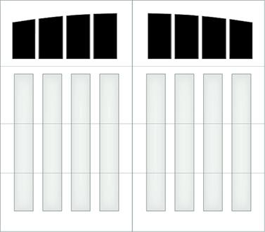 D304A - Single Door Single Arch