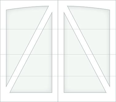 DA00A - Single Door Single Arch
