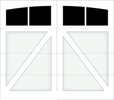 DA02A - Single Door Single Arch