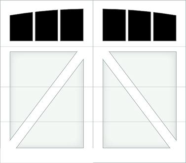 DA03A - Single Door Single Arch