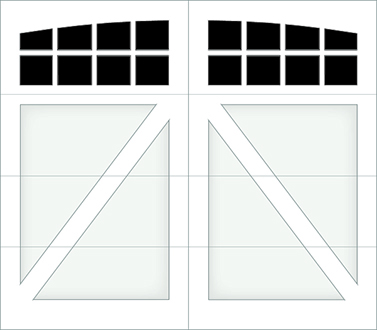 DA08A - Single Door Single Arch